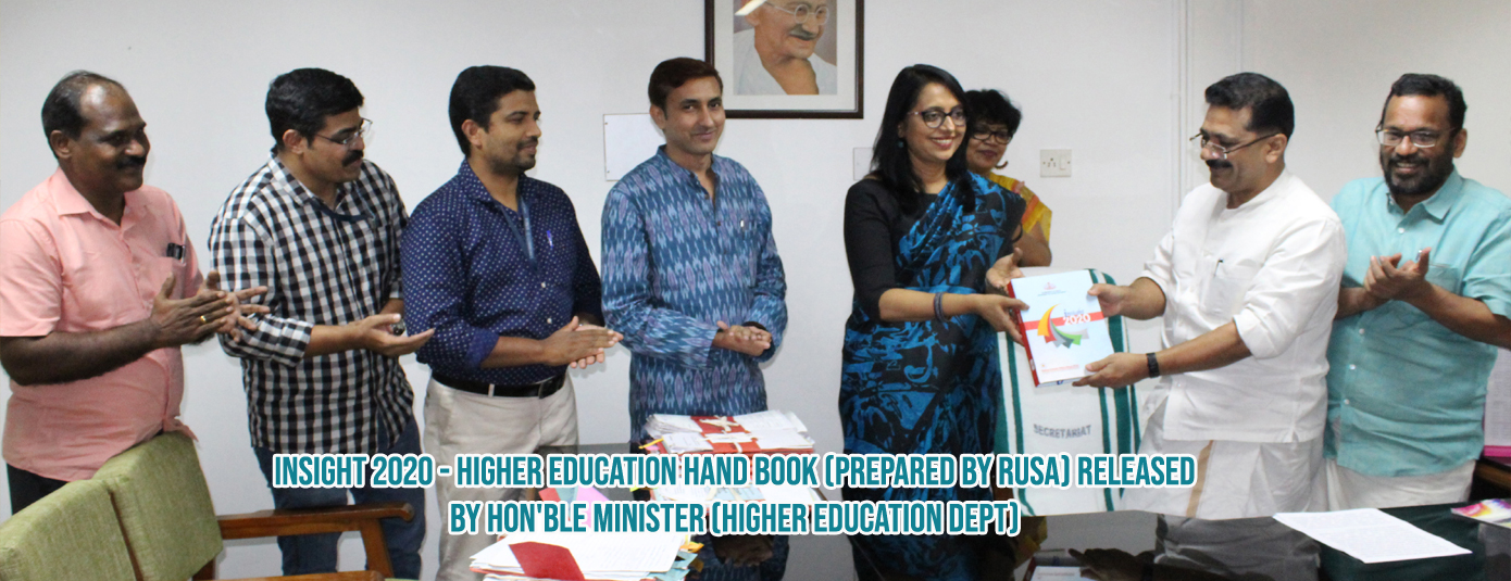 Higher Education Hand Book Prepared by RUSA
